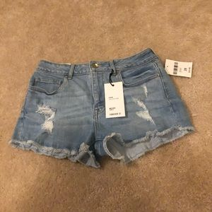 Forever 21 midrise shorts